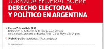 Jornadas Federales de Derecho Electoral y Político de la Argentina