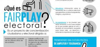 """Transparencia Electoral presenta el programa """"FAIR PLAY ELECTORAL"""""""