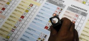 Transparencia Electoral presente en las Elecciones Generales de Perú.