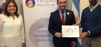 Transparencia Electoral entregó premio a portal del Consejo Nacional Electoral de Ecuador.