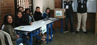 Transparencia Electoral presente en el Plebiscito de Colombia