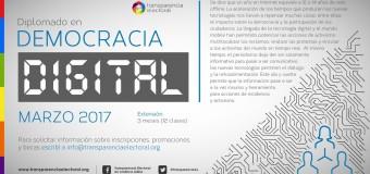 Transparencia Electoral lanza Diplomado en Democracia Digital