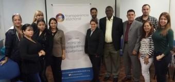 Transparecia Electoral recibió a la Red de Facilitadores Electorales de Cuba
