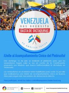 flyer Venezuela