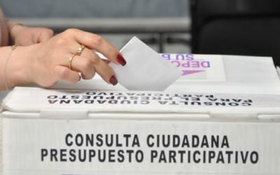 Consulta de Presupuesto Participativo en la Ciudad de México, una década de involucrar más a la sociedad con la democracia.