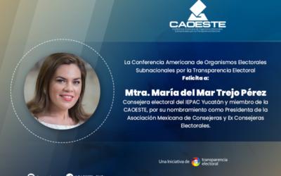 La CAOESTE felicita a María del Mar Tejo Pérez por su designación como presidenta de la AMCCE