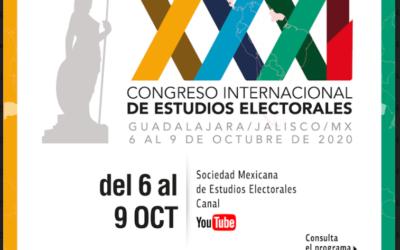 XXXI CONGRESO INTERNACIONAL DE ESTUDIOS ELECTORALES: LOS DILEMAS DE LA DEMOCRACIA EN AMÉRICA LATINA