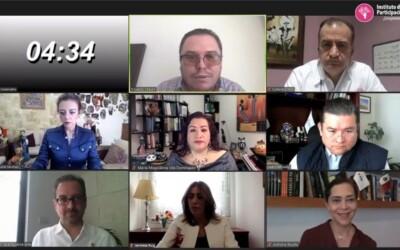 Miembros de la CAOESTE participan del conversatorio virtual sobre candidaturas independientes impulsado por el IEPC Chiapas
