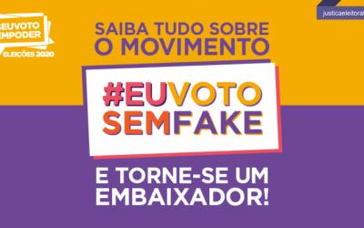 """TSE lanza campaña """"#EuVotoSemFake"""", contra la desinformación en las elecciones"""
