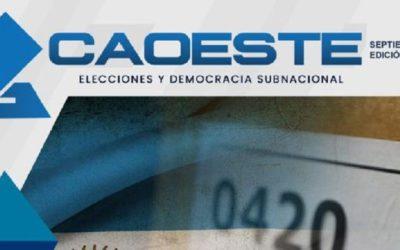 Revista CAOESTE 004. Septiembre 2020