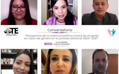 Celebra TECDMX Conversatorio en el marco del Día Internacional para Erradicar la Violencia contra la Mujer