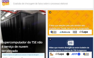 """Elecciones Brasil: la Justicia Electoral creo un portal para combatir las """"fake news"""""""