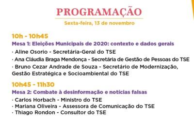 El TSE brindará un seminario sobre las elecciones municipales 2020