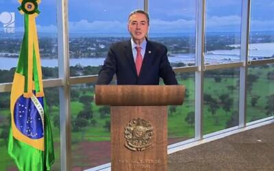 Mensaje del presidente del TSE Brasil sobre la violencia política a 5 días de la 2da vuelta electoral