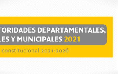 Calendario electoral para la Elección de Autoridades Departamentales, Regionales y Municipales 2021 de Bolivia