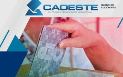 Revista CAOESTE 007. Marzo 2021