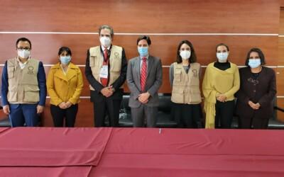 Elecciones Bolivia: el TSE recibe a la Misión de Observación Electoral de la OEA