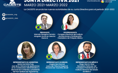 Junta Directiva CAOESTE 2021-2022