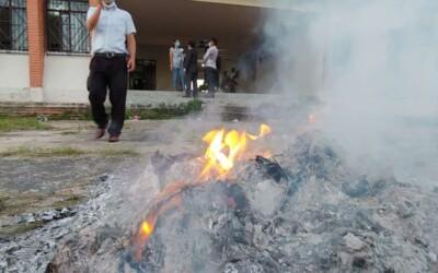 En cinco municipios de Bolivia se registraron quemas de ánforas por denuncias de supuesto fraude