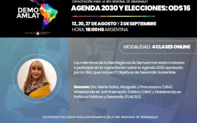 Agenda 2030 y Elecciones: El ODS 16