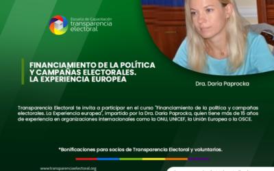 Financiamiento Político y Campañas Electorales. La experiencia europea