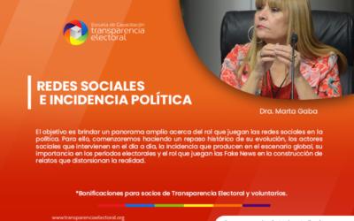 Redes Sociales e Incidencia Política